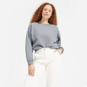 Everlane ReNew fleece oversized sweatshirt